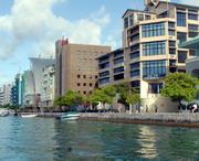 Единственный город на мальдивских